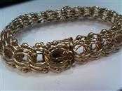Gold Link Bracelet 14K Yellow Gold 29.47g